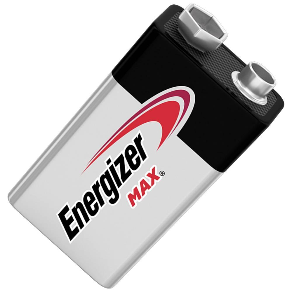 9 V Block baterija, alkalno-manganova Energizer Max 6LR61 9 V 1 kos