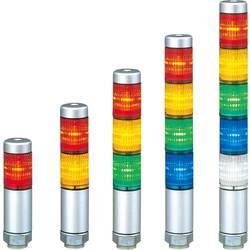 LED signalni stup MPS-302-RYG+FB146 Patlite s 3 m kabla - kratko kućište