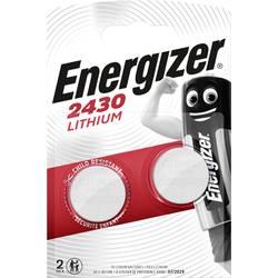 Gumbna baterija CR 2430 litijeva Energizer CR2430 2er 290 mAh 3 V 2 kosa