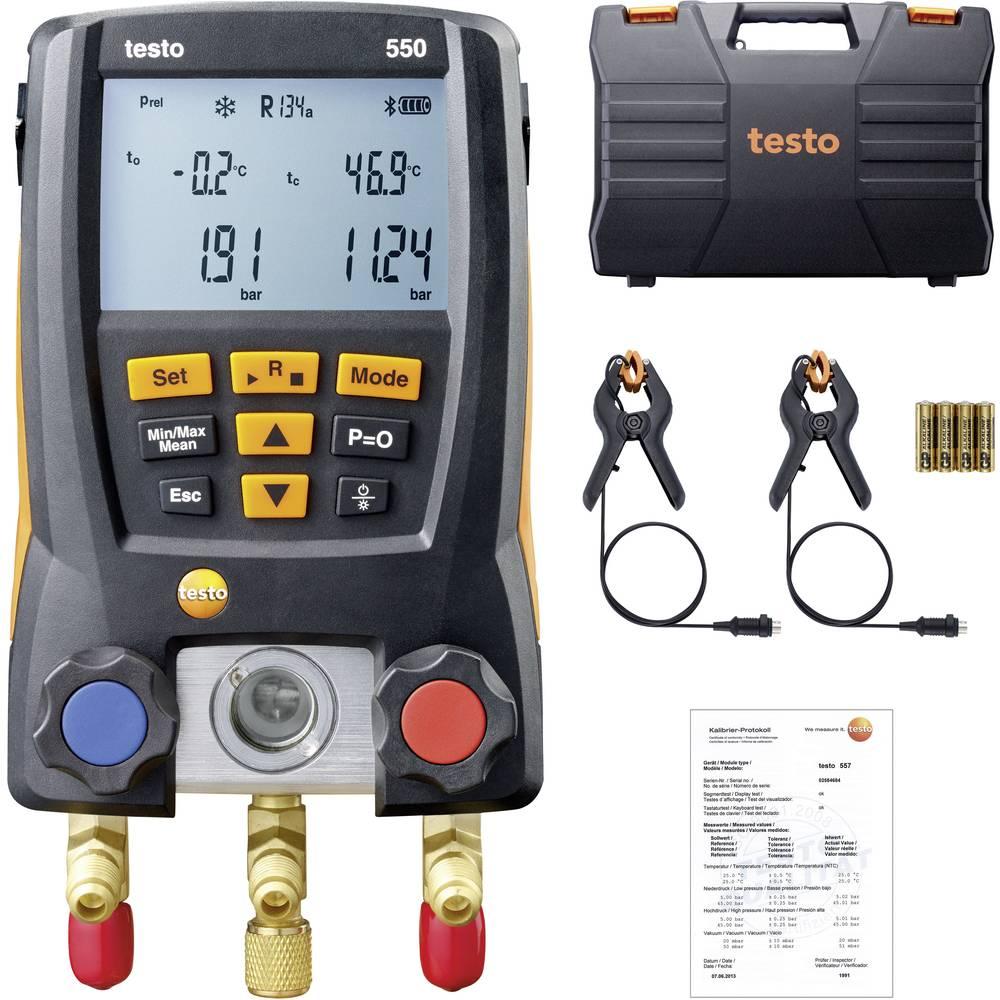 testo 550 komplet digitalne naprave za kontrolo hladilnih sistemov in toplotnih črpalk
