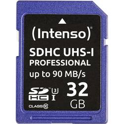 SDHC-kartica 32 GB Intenso Professional Class 10, UHS-I