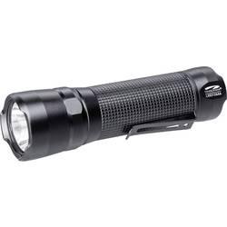 LED žepna svetilka LiteXpress baterijsko napajanje 20 lm, 130 lm 121 g črne barve