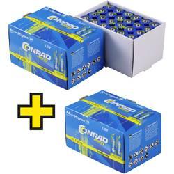 Conrad energy mignon (AA) baterija alkalno-manganov 1.5 V 72 St.