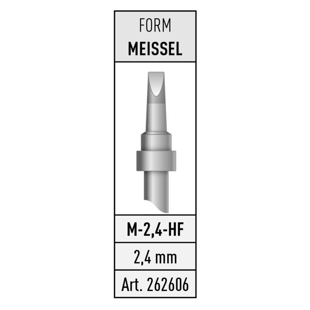 Spajkalna konica v obliki dleta Stannol M-2,4-HF vsebuje 1 kos