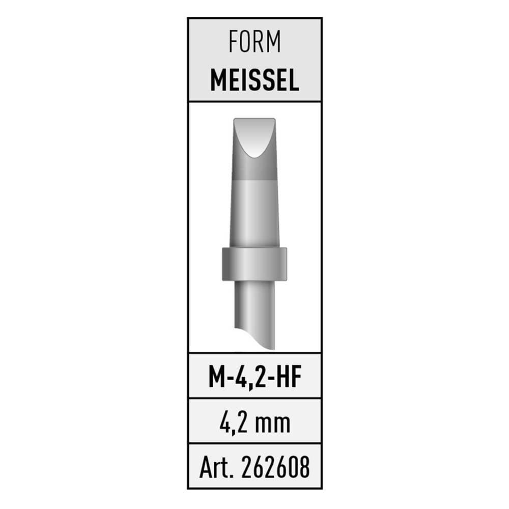 Spajkalna konica v obliki dleta Stannol M-4,2-HF vsebuje 1 kos