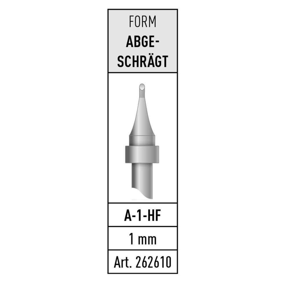 Spajkalna konica, prirezana Stannol A-1-HF vsebuje 1 kos