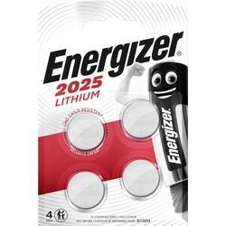 Gumbna baterija CR 2025 Lithium Energizer CR2025 163 mAh 3 V 4 kosov