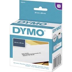DYMO etikete (rola) 89 x 28 mm papir bele barve 130 kosov, trajne 1983173 naslovne etikete