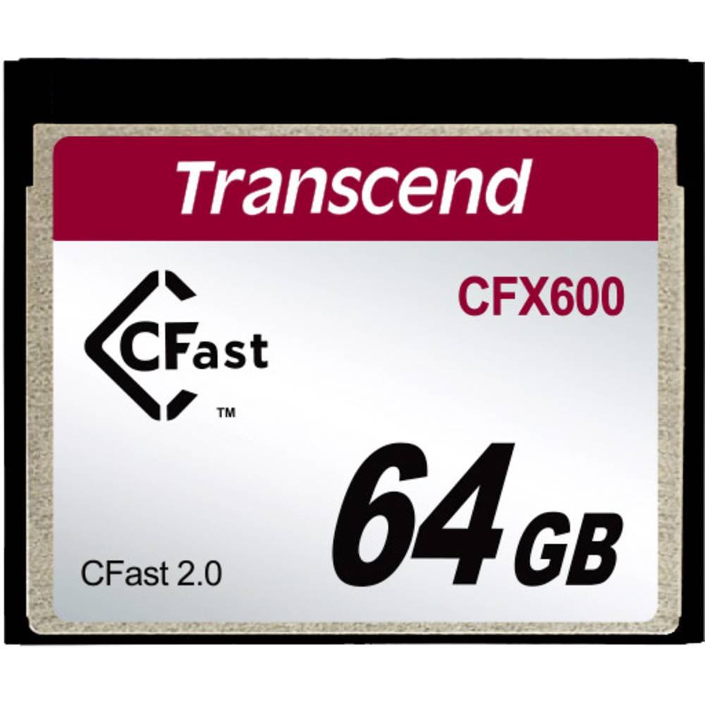 Transcend CFX600 cfast kartica 2.0 mlc industrijska 64 GB