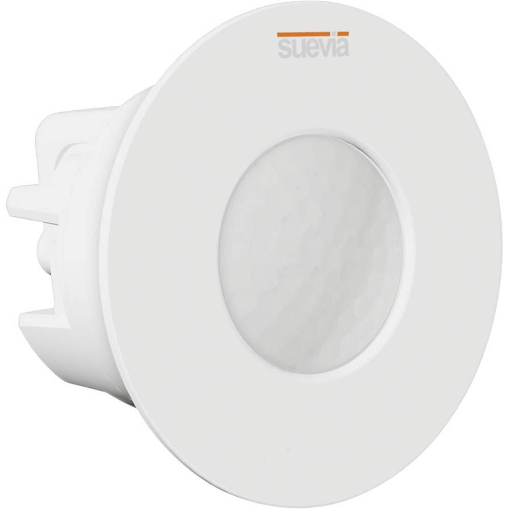 Vgradni, stropni senzor gibanja Suevia SU136012 360 ° bele barve IP20