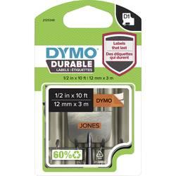 Označilni trak DYMO 1978367 iz vinila, barva traku: oranžne barve, barva pisave: črne barve 12 mm 3 m