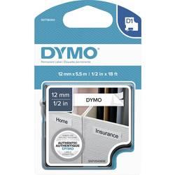 Označilni trak DYMO S0718060 iz poliestra, barva traku: bele barve, barva pisave: črne barve 12 mm 5.5 m