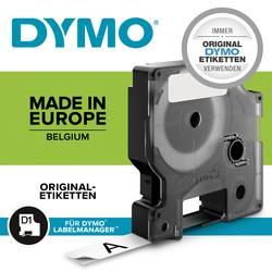 Označilni trak DYMO S0718070 iz poliestra, barva traku: bele barve, barva pisave: črne barve 19 mm 5.5 m