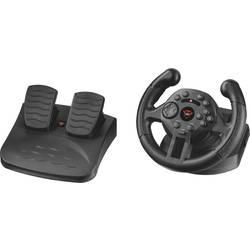 Trust GXT 570 volan USB PC, PlayStation 3 črna vklj. pedala