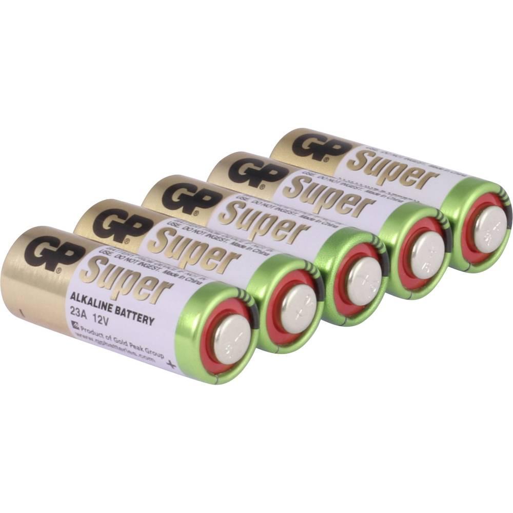 GP Batteries GP23AF Specialne baterije 23 A Alkalno-manganov 12 V 38 mAh 5 KOS