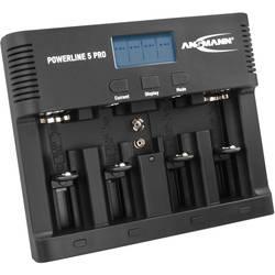 Polnilna naprava za gumbne baterije Ansmann Powerline 5 Pro Micro (AAA), Mignon (AA), Baby (C), Mono (D), 9 V Block