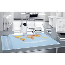 Sigel World Map HO440 podloga za pisanje letni koledar večbarvna (Š x V) 595 mm x 410 mm