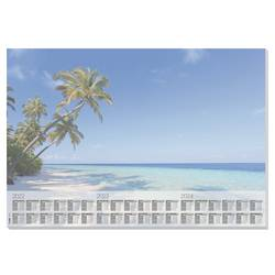 Sigel Beach HO470 podloga za pisanje letni koledar večbarvna (Š x V) 595 mm x 410 mm