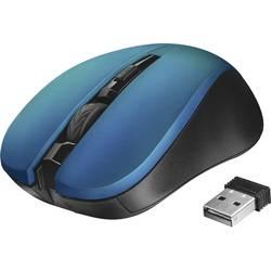 Trust Mydo Silent Click Bežični miš Optički Plava boja