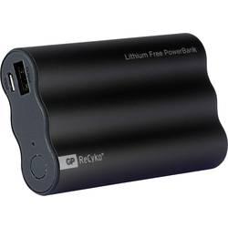 GP Batteries Travo Safe 4H03 powerbank (rezervna baterija) NiMH 3800 mAh 1304H03BLACK