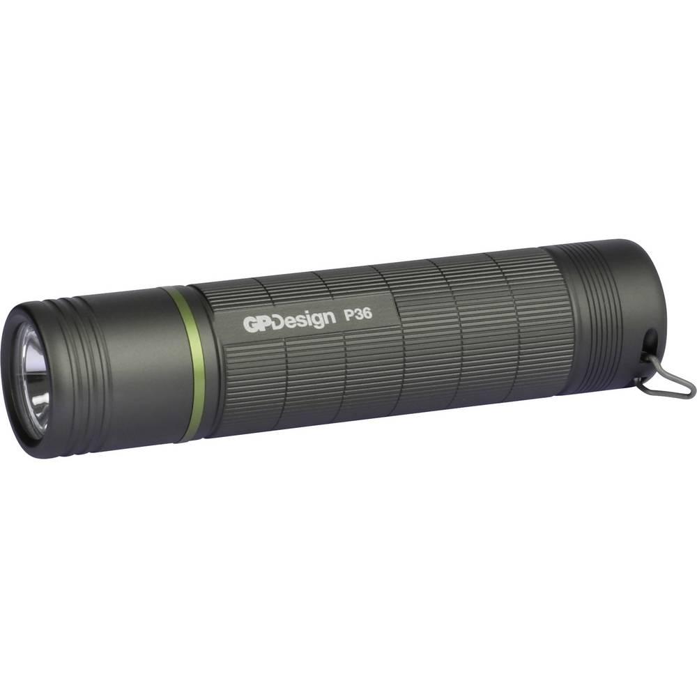 GP Design P36 Polaris LED Žepna svetilka Baterijsko 300 lm 27 h 79 g