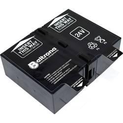 Beltrona RBC124 ups na akumulator Nadomešča originalno baterijo RBC124 Primerno za blagovne znamke APC