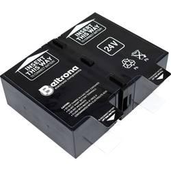 Beltrona RBC123 ups na akumulator Nadomešča originalno baterijo RBC123 Primerno za blagovne znamke APC