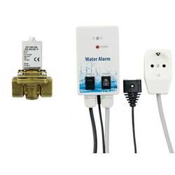 Greisinger 603932 detektor vode z elektromagnetnim ventilom za izklop, z zunanjim senzorjem električni pogon