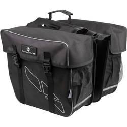 M-Wave Amsterdam Double torba za prtljažnik črna, siva