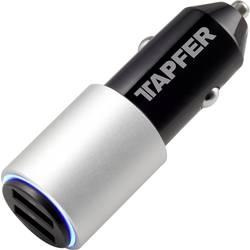 Tapfer Portable Car Charger 2002CTF USB napajalnik Osebno vozilo, Toprednjio vozilo Izhodni tok maks. 3000 mA 2 x USB
