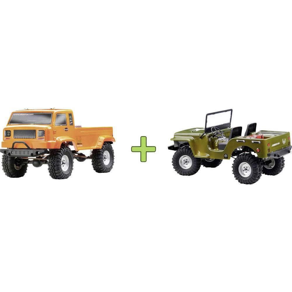 Absima s ščetkami 1:10 RC Modeli avtomobilov Elektro Crawler Pogon na vsa kolesa (4WD) RtR 2,4 GHz Vklj. dodatno karoserijo