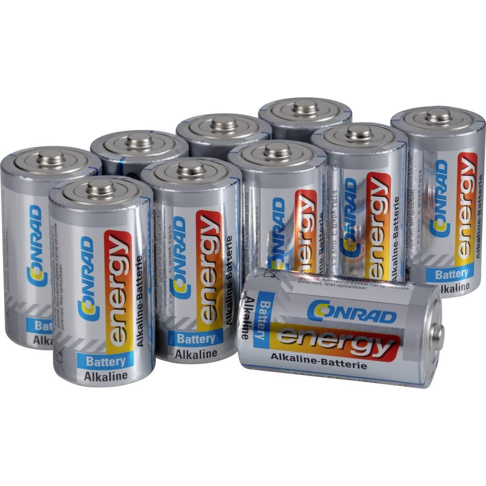 Conrad energy baby (c) baterija alkalno-manganov 7500 mAh 1.5 V 10 kos