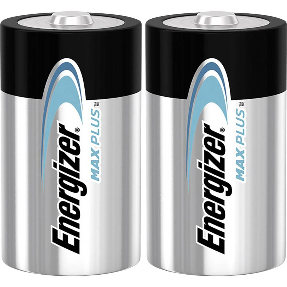 Energizer Max Plus mono (d)-baterija alkalno-manganov 1.5 V 2 kos