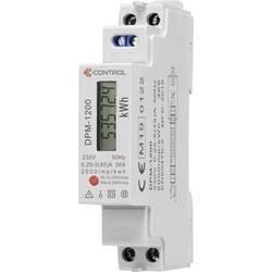 C-Control DPM-1200 naprava za merjenje stroškov energijske porabe osvetljen zaslon