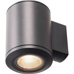 SLV zunanja stenska svetilka Luči 1000448 Antracitna LED, fiksno vgrajena