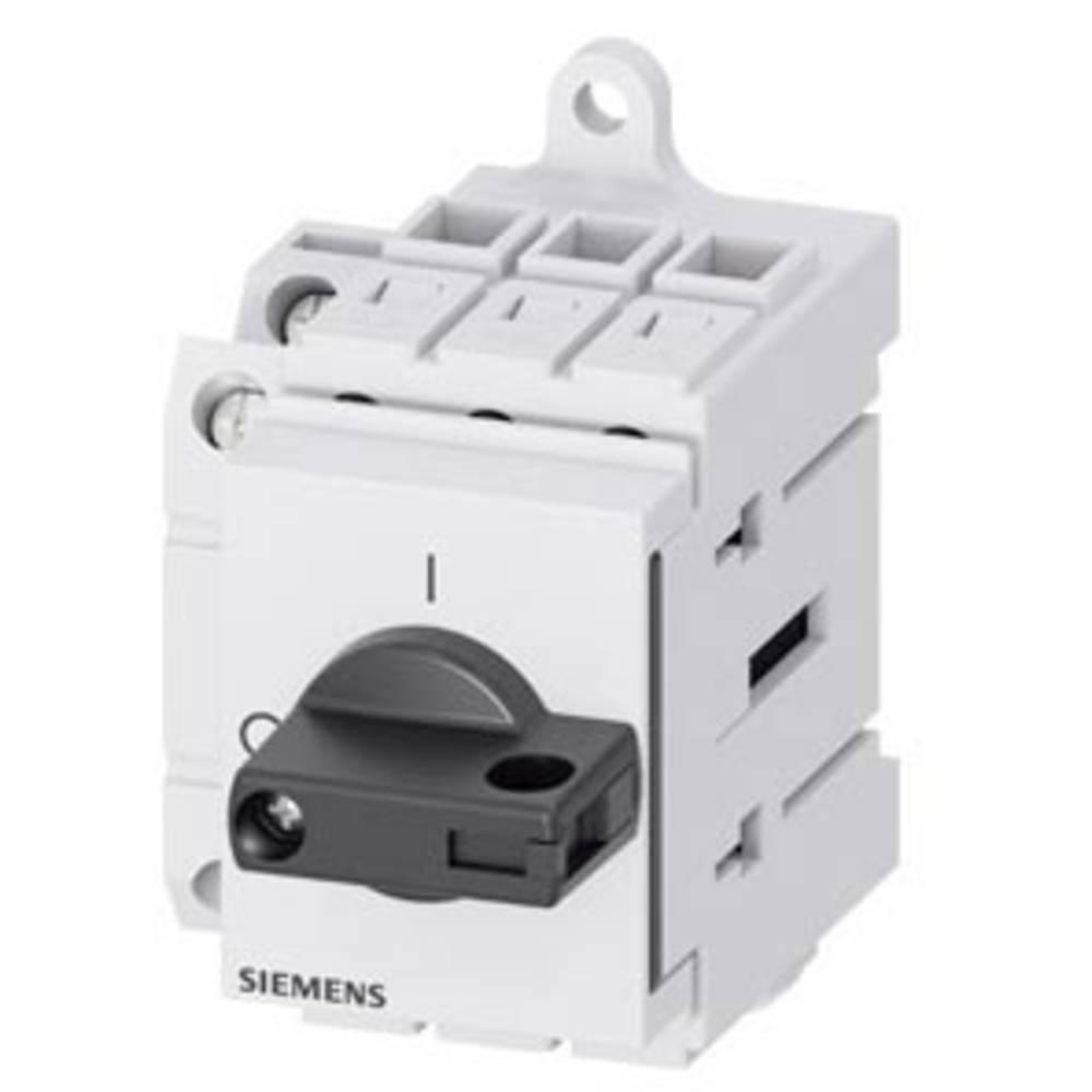 glavno stikalo 1 zapiralo, 1 odpiralo Siemens 3LD3030-1TK11 1 kos