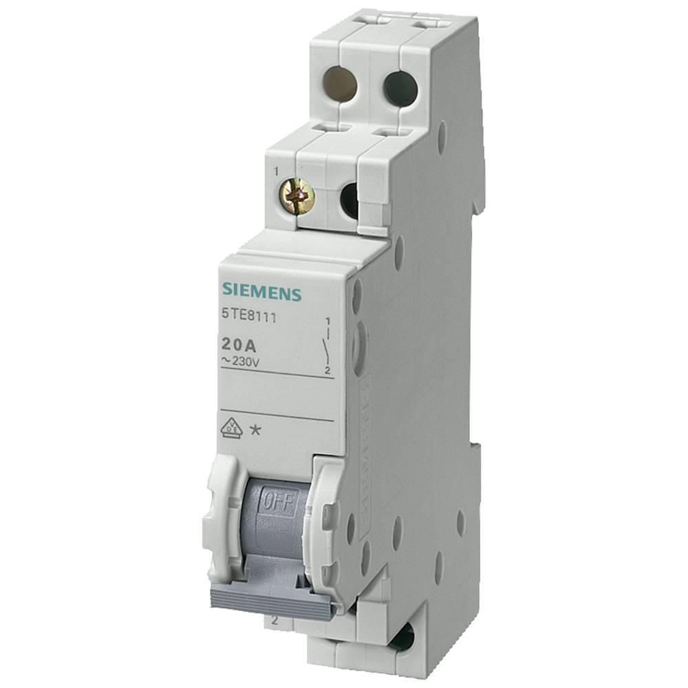 Izklopno stikalo Siva 20 A 3 zapiralo Siemens 5TE8114