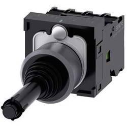 Siemens Stikalo za koordinate, 22mm, okroglo, kovinsko ohišje, črno, zapah, 1S, 1S, 1S, 1S 3SU1130-7BE10-1QA0