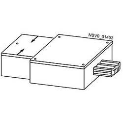 krajnji napajač bakar svijetlosiva 1000 A 690 V Siemens BVP:611102