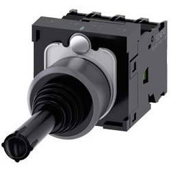 Siemens Stikalo za koordinate, 22mm, okroglo, kovinsko ohišje, črno, 1S, 1S, 1S, 1S 3SU1130-7AF10-1QA0