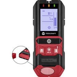 TOOLCRAFT uređaj za pračenje uklj. mjerač vlažnosti materijala TO-5137833 Dubina lokaliziraja (maks.) 80 mm Prikladno za željezn