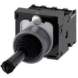 Siemens Stikalo za koordinate, 22mm, okroglo, kovinsko okvirno, črno, trenutno, 1S, 1S, 1S, 1S 3SU1130-7AF10-3QA0