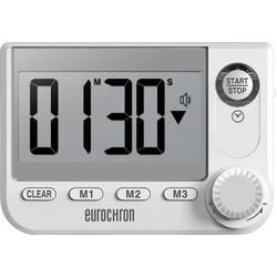 Mjerač vremena Eurochron EDT 8001 Bijela digitalni