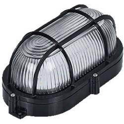 LED svjetiljka za vlažne prostorije led 9 W crna Basetech BT-LF90