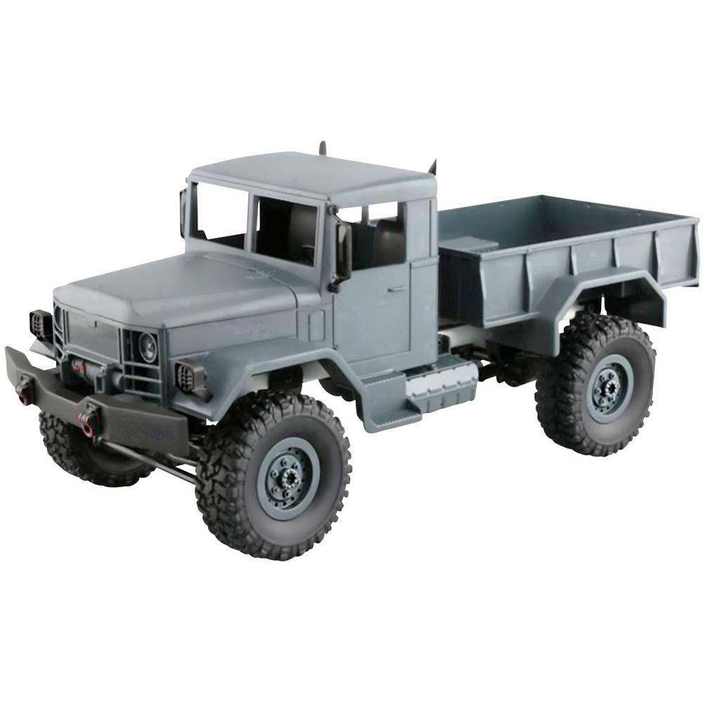 Amewi Truck s ščetkami 1:16 Modeli RC tovornjakov Elektro Tovornjak Pogon na vsa kolesa (4WD) Komplet za sestavljanje
