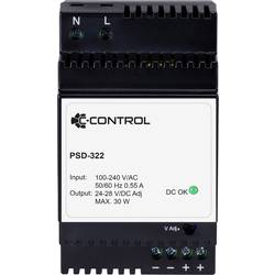C-Control PSD-322 DIN-napajanje (DIN-letva) 24 V/DC 1.25 A 30 W 1 x