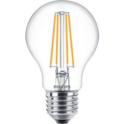 Philips led EEK A+ (A++ - E) e27 klasična oblika 8 W = 60 W toplo bela (Ø x D) 60 mm x 104 mm zatemnilna, žarilna nitka 1