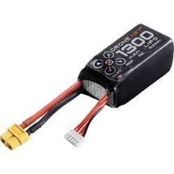 DroneArt LiPo akumulatorski paket za modele 14.8 V 1300 mAh Število celic: 4 75 C Mehka torba XT60