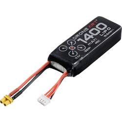 DroneArt LiPo akumulatorski paket za modele 11.1 V 1400 mAh Število celic: 3 45 C Mehka torba XT30