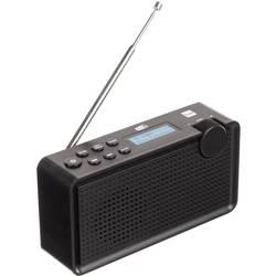 Dual DAB 85 prenosni radio dab+, ukw ponovno polnjenje črna